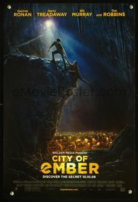 7x116 CITY OF EMBER style B advance special 13x20 '08 cool artwork of underground city!