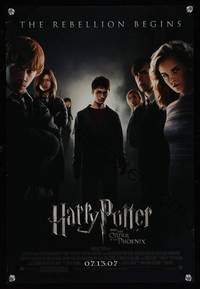 7x180 HARRY POTTER & THE ORDER OF THE PHOENIX advance special poster '07 Daniel Radcliffe!