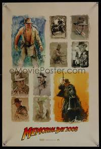 7x194 INDIANA JONES & THE KINGDOM OF THE CRYSTAL SKULL teaser special poster '08 Spielberg, Ford!