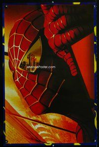 7x302 SPIDER-MAN teaser special 22x34 '02 wild image of WTC attacks!