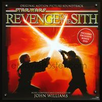 7x272 REVENGE OF THE SITH special 24x24 '05 Star Wars Episode III, cool artwork of Jedi battle!