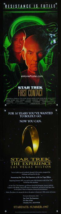 7x314 STAR TREK: FIRST CONTACT DS special 12x23 '96 Patrick Stewart, Jonathan Frakes, Brent Spiner