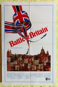 8m058 BATTLE OF BRITAIN int'l B 1sh '69 all-star cast in classic World War II battle!