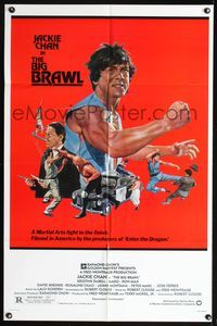8m066 BIG BRAWL 1sh '80 early Jackie Chan, violent art, a martial arts fight to the finish!