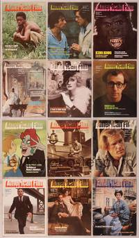 8v016 LOT OF AMERICAN FILM MAGAZINES #2 12 magazines Oct 1976 to Jan 1978, Roots, King Kong, Bette!