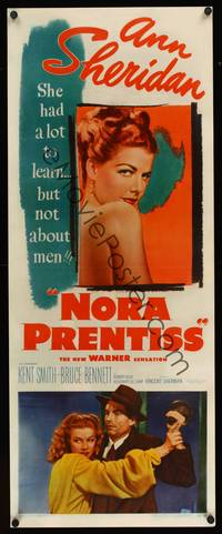 8y061 NORA PRENTISS insert '47 sexy Ann Sheridan had a lot to learn, but not about men!