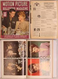 8z066 MOTION PICTURE magazine June 1943, Ginger Rogers & her new husband Private Jack Briggs!
