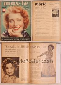 8z037 MOVIE MIRROR magazine December 1935, portrait of Jeanette MacDonald by James Doolittle!