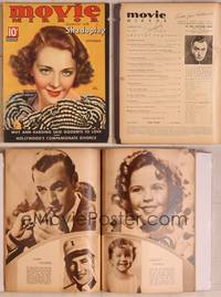 8z034 MOVIE MIRROR magazine September 1935, artwork portrait of Ruby Keeler by Tchetchet!