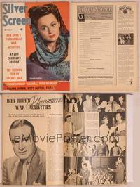8z058 SILVER SCREEN magazine October 1943, Olivia De Havilland from Government Girl!