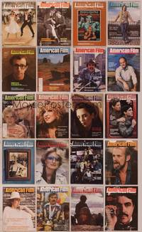 8z025 LOT OF AMERICAN FILM MAGAZINES #2 20 magazines '77-79 Woody, Meryl, Houdini, Bette & more!
