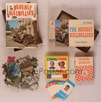 8z007 LOT OF BEVERLY HILLBILLIES MEMORABILIA puzzle & game '63 Jed, Jethro, Ellie May & Granny!