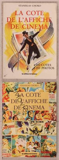 8z014 LOT OF FRENCH MOVIE POSTER REFERENCE BOOKS 2 books Stanislas Choko's ultimate guides!