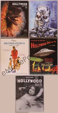 8z013 LOT OF PROFILES IN HISTORY MOVIE MEMORABILIA AUCTION CATALOGS 5 catalogs 05-08 props & posters
