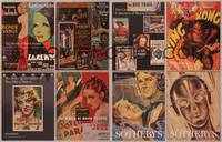 8z011 LOT OF SOTHEBY'S MOVIE POSTER AUCTION CATALOGS 8 catalogs '95-2000 Caidin, Feiertag + more!