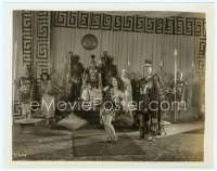 9g004 ACTRESS 8x10 still '28 great image of Norma Shearer in leopardskin with Roman soldiers!