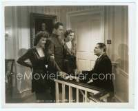 9g005 ADAM HAD FOUR SONS 8x10 still '41 Warner Baxter, Ingrid Bergman, Susan Hayward, Denning