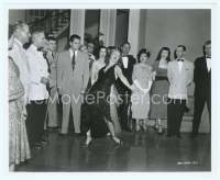 9g007 AFFAIR IN TRINIDAD 8x10 still '52 Rita Hayworth doing a torrid dance to make Ford angry!