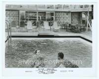 9g008 AFFAIR TO REMEMBER 8x10.25 still '57 Cary Grant & Deborah Kerr swimming in the ship's pool!