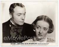 9g015 ALL THIS & HEAVEN TOO 8x10 still '40 super close up of confused Bette Davis & Charles Boyer!