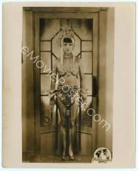 9g022 ANNA MAY WONG deluxe 8x10 still '20s wonderful full-length portrait in wild sexy outfit!