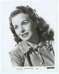 9g023 APARTMENT FOR PEGGY 8x10.25 still '48 super close up of beautiful smiling Jeanne Crain!