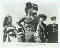 9g024 AROUND THE WORLD IN 80 DAYS 8x10 still R68 David Niven, Cantinflas, MacLaine & Buster Keaton