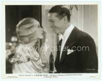 9g035 BEDTIME STORY 8x10 still '33 Maurice Chevalier smiling at worried Helen Twelvetrees!