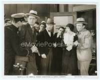 9g041 BIG NEWS 7.75x10 still '29 Carole Lombard wearing cloth cap with Robert Armstrong & others!