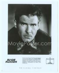 9g045 BLADE RUNNER video 8x10 still '82 Ridley Scott sci-fi classic, Harrison Ford