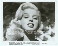9g046 BLONDE SINNER 8x10 still '56 wonderful super close up of sexy bad girl Diana Dors!