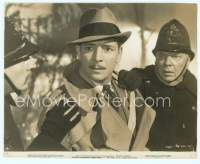 9g058 BULLDOG DRUMMOND STRIKES BACK 7.5x9.5 still '34 surprised Ronald Colman grabbed by cops!
