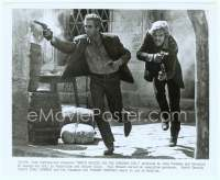 9g060 BUTCH CASSIDY & THE SUNDANCE KID 8x10 still '69 classic image of Newman & Redford at climax!