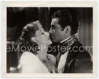 9g063 CAMILLE 8x10 still '37 romantic close up of Greta Garbo & Robert Taylor about to kiss!