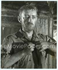 9g053 BRIDGE ON THE RIVER KWAI English 8x10 still '58 great c/u of Guinness after imprisonment!