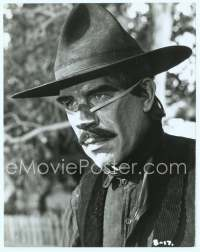 9g070 CAT BALLOU English 8x10 still '65 great close up of Lee Marvin with hat and steel nose!