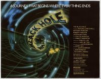 9k016 BLACK HOLE TC '79 Walt Disney, a journey that begins where everything ends!