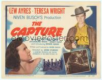 9k020 CAPTURE TC '50 Lew Ayres, Teresa Wright, early John Sturges film noir!