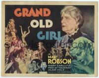9k045 GRAND OLD GIRL TC '35 school teacher May Robson exposes gambling, cool art!