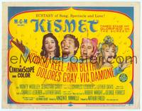 9k069 KISMET TC '56 Howard Keel, Ann Blyth, ecstasy of song, spectacle & love!