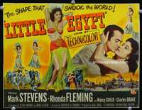 9k073 LITTLE EGYPT TC '51 full-length image of sexy belly dancer Rhonda Fleming!