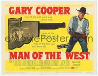 9k076 MAN OF THE WEST TC '58 Gary Cooper is the man of the soft word, notched gun & fast draw!