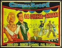 1a044 LUCKY ME large Argentinean '54 sexy Doris Day, Robert Cummings, Phil Silvers