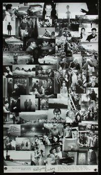 1b350 HOLLYWOOD ENDING special 28x50 '02 Woody Allen, final frames from 52 different movies!