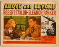 1d001 ABOVE & BEYOND signed LC #3 '52 by James Whitmore, who's with concerned Eleanor Parker!