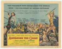 1d071 ALEXANDER THE GREAT TC '56 Richard Burton, Frederic March as Philip of Macedonia!