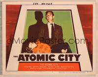 1d002 ATOMIC CITY signed LC #5 '52 by Lee Aaker, who's being held by nuclear scientist Gene Barry!