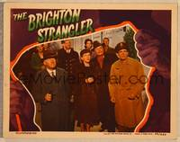 1d006 BRIGHTON STRANGLER signed LC '44 by Rose Hobart, who's wearing fur & looking at the sky!
