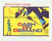 1d077 CASH ON DEMAND TC '62 Peter Cushing, how to rob a bank and get away with it!