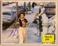 1d008 CHAPTER TWO signed LC #8 '80 by pretty Marsha Mason, who's whistled at on the street!
